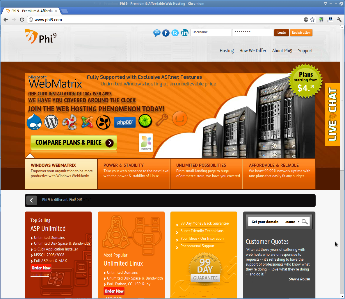 The Web Hosting Phenomenon!