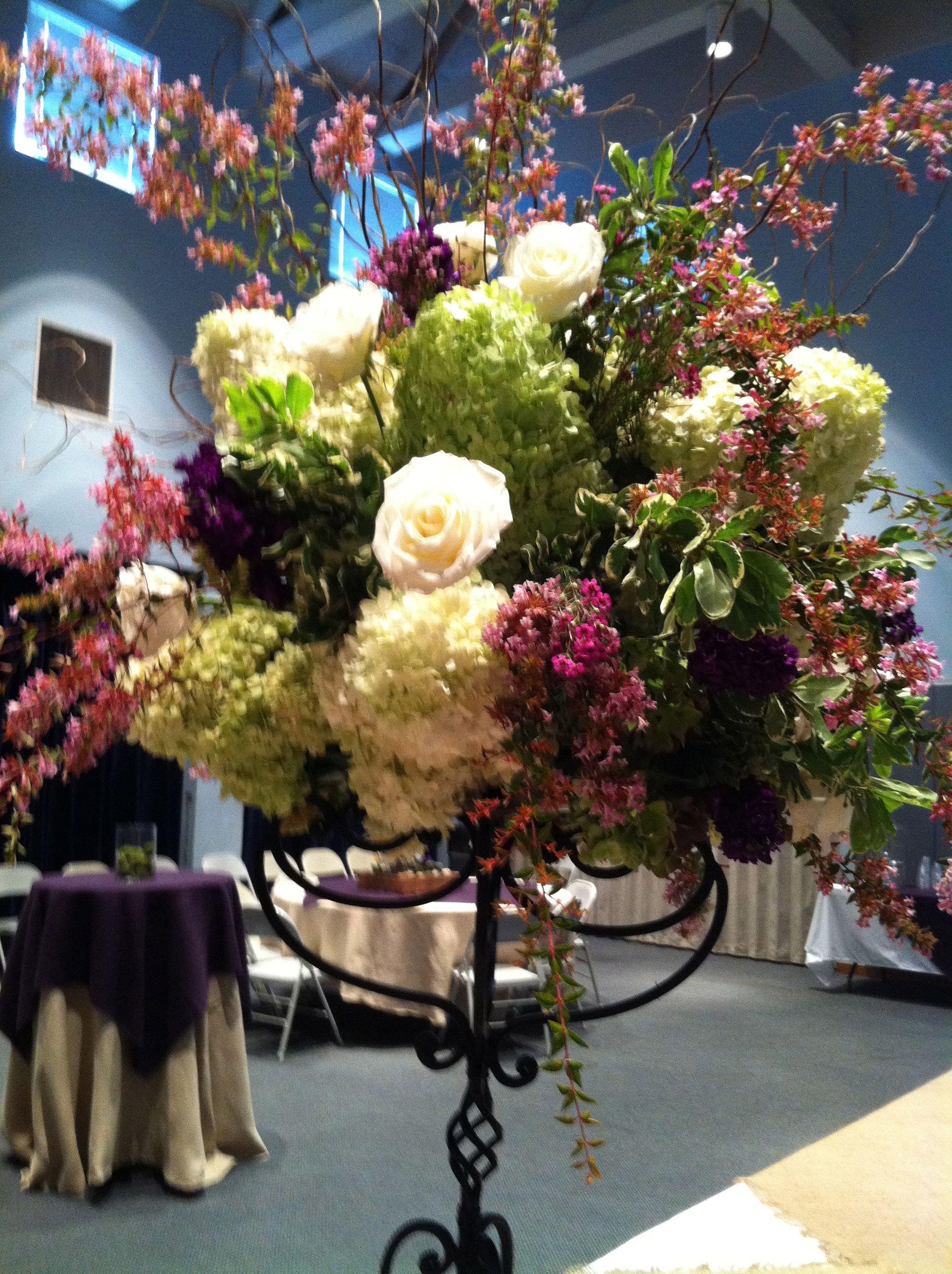 Wedding decorations wedding reception ideas  Centerpiece of reception food table  Reception Ideas  Pinterest