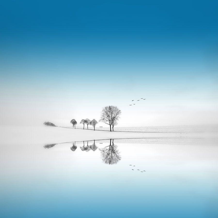 Blue Season by Philippe Sainte-Laudy #reflection