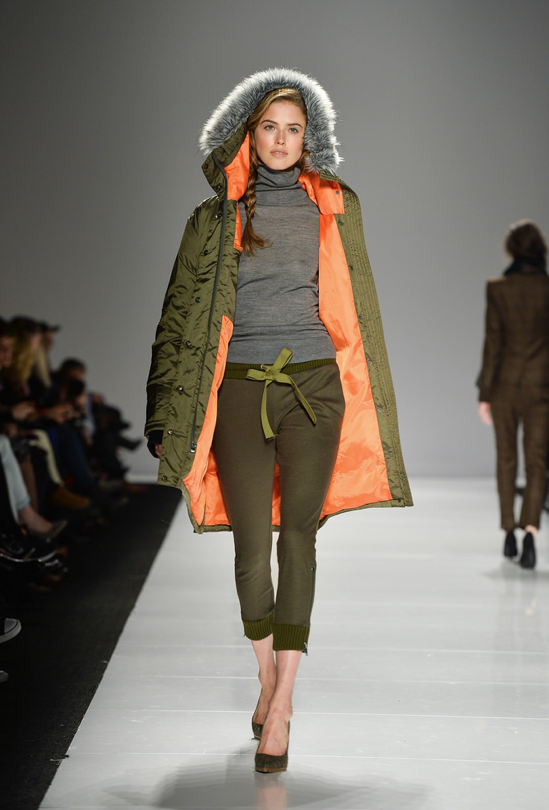not that i want to think about going back to winter, but this coat is pretty fab // Joe Fresh Runway FW14