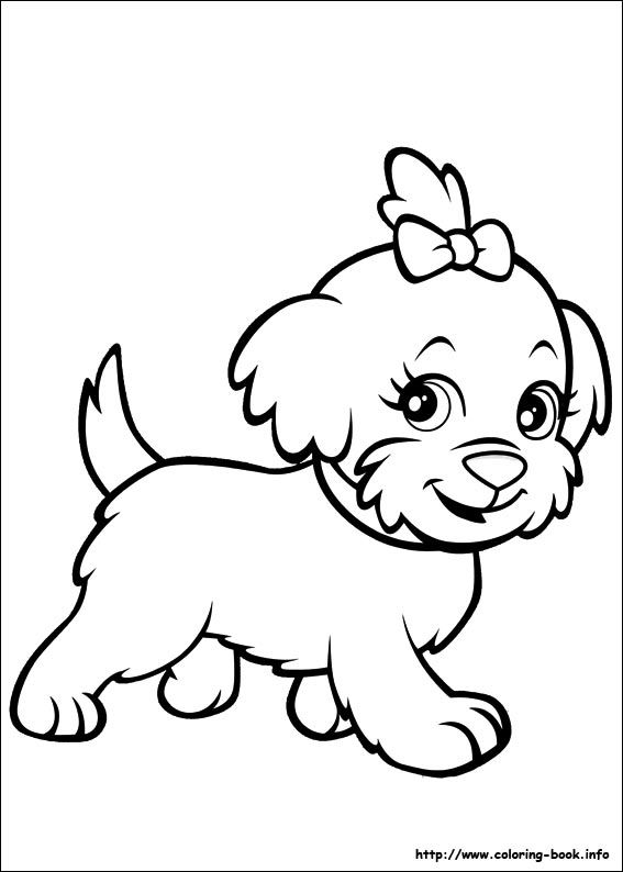 mini polly pocket coloring pages - photo#11