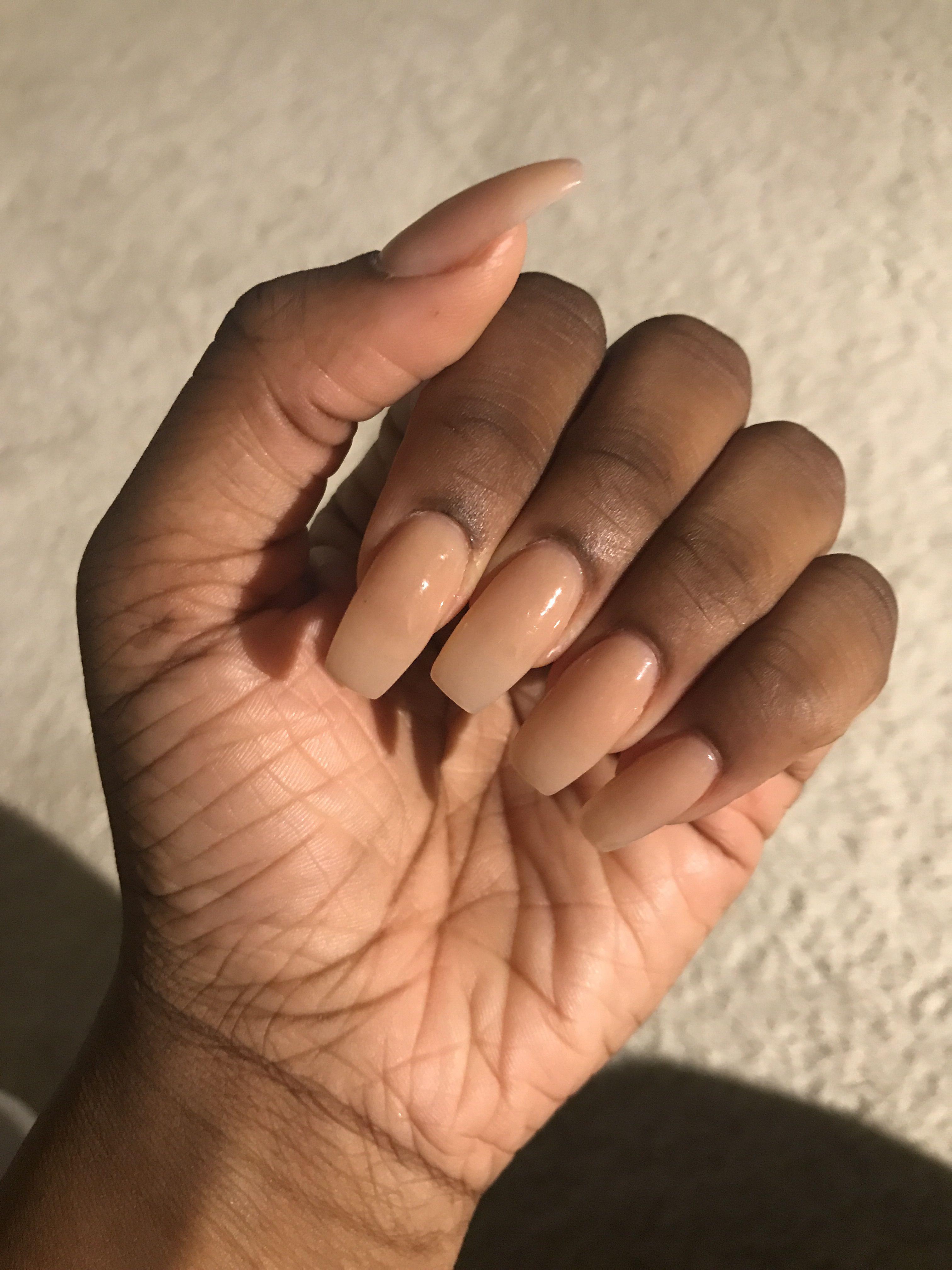 Natural Nails Short Gel Nails Natural Brown Skin In 2020 Short Gel Nails Natural Acrylic Nails Natural Gel Nails