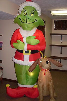 Grinch & Max Inflatable 8' FT... | grinch christmas | Pinterest ...