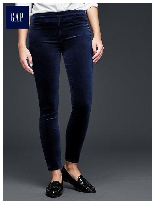 6d2efff26109a Velvet side-zip pull-on leggings + Gap (Just ordered 3 pairs!) | My ...
