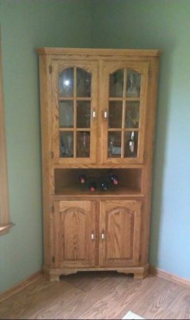 Room Oak Corner Hutch 100 Craigslist