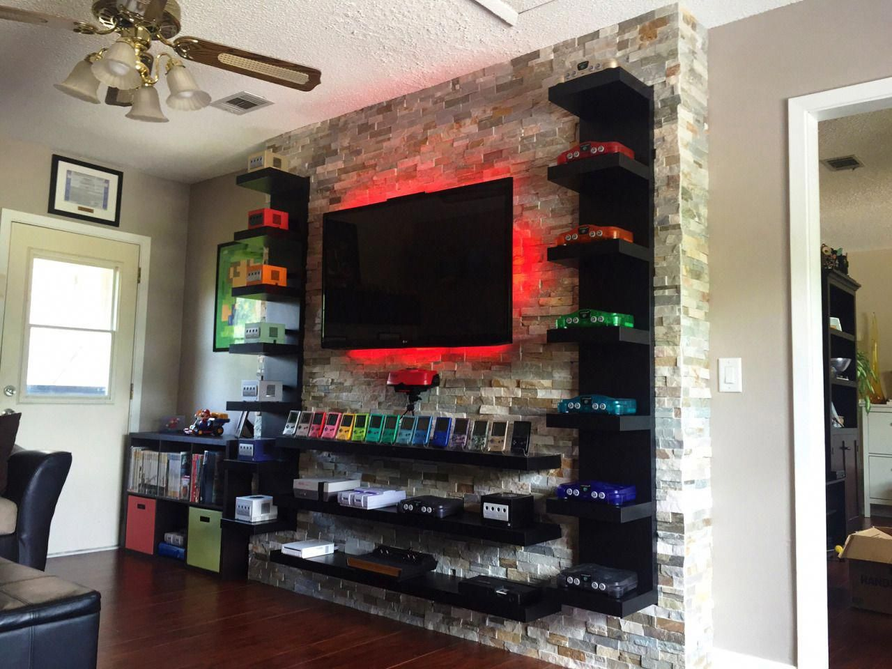 You can customize their difficulty based on your child's ability and age level. Joy of a Man Cave | Video game room design, Boys game room ...