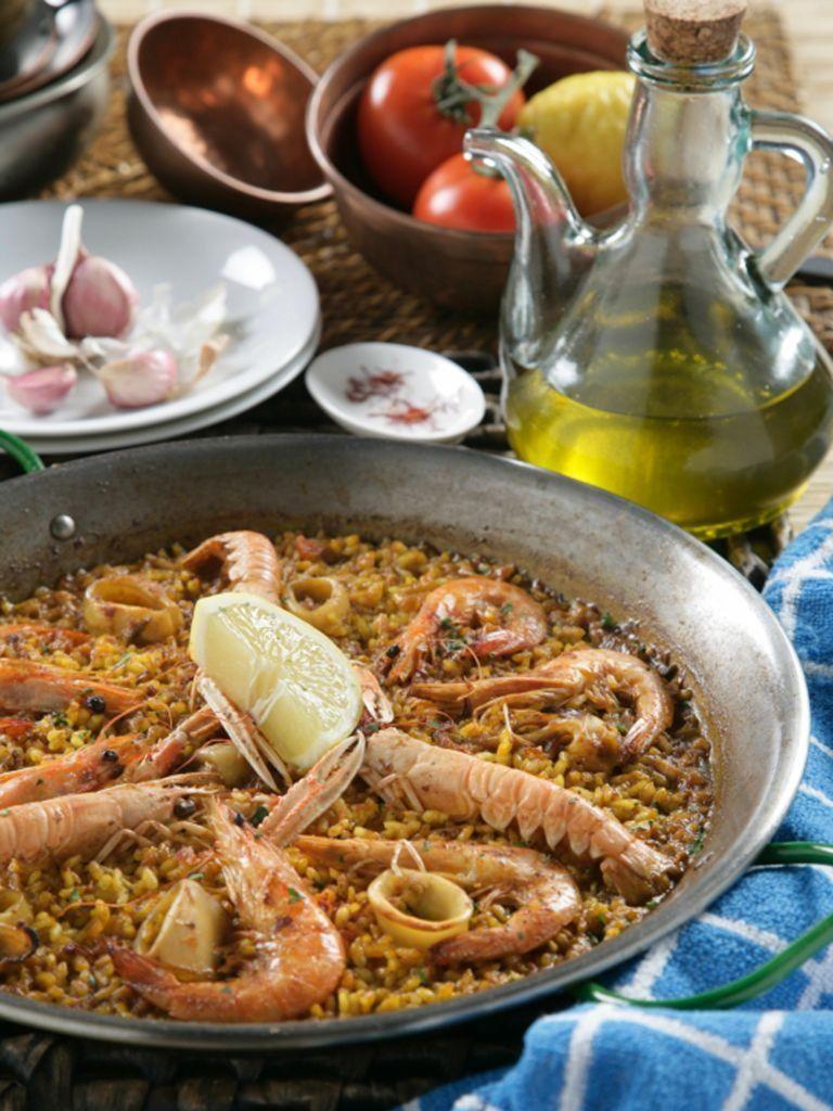 Paella De Marisco Nutritiva Y Con Mucho Sabor La Has Probado Receta En 2020 Paella De Mariscos Receta De Paella De Mariscos Mariscos