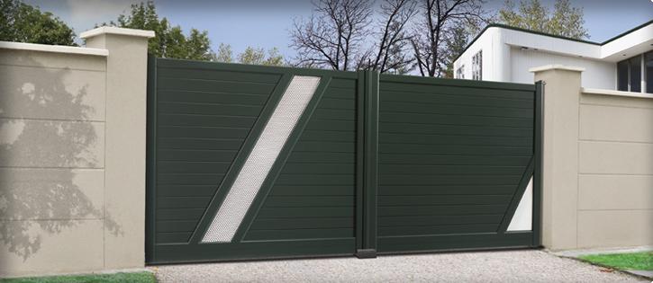 Charuel fabricant de portail et cl ture 30 ans d for Portail jardin pvc