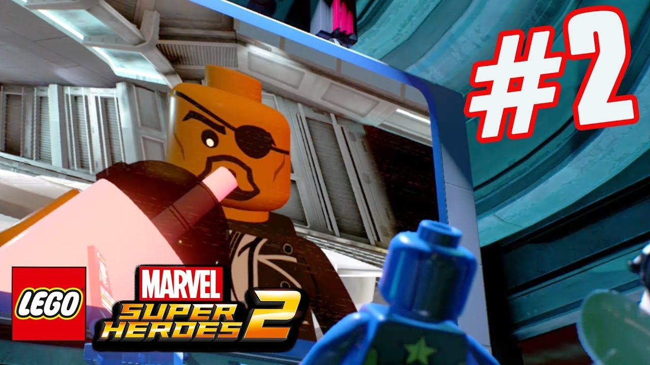 LEGO Marvel Superheroes 2 - Part 2 - Incoming Call! (HD