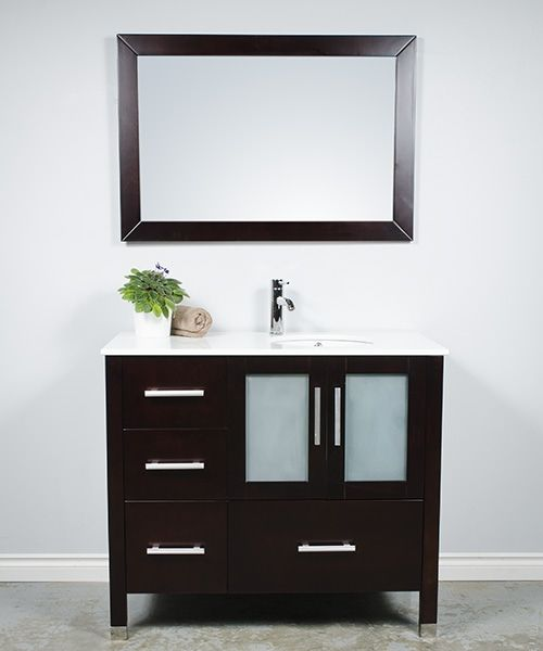2041 41 Bathroom Cabinet With Sink On The Right Side With Drawers On The Left With Images Bathroom Showrooms Bathroom Vanity Bathroom Cabinets