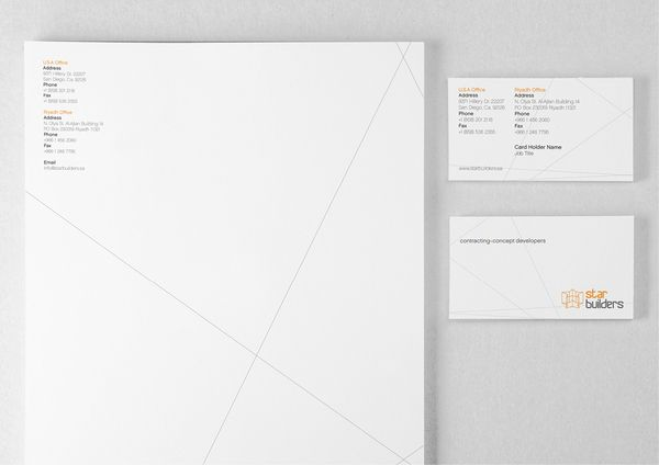 Modern Letterhead Designs For Inspiration  Brand  Image