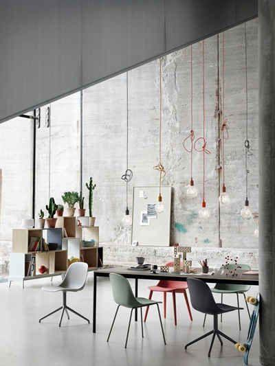 Muuto E27 Pendant Lamp Grey Scandinavian Interior Muuto Furniture Interior