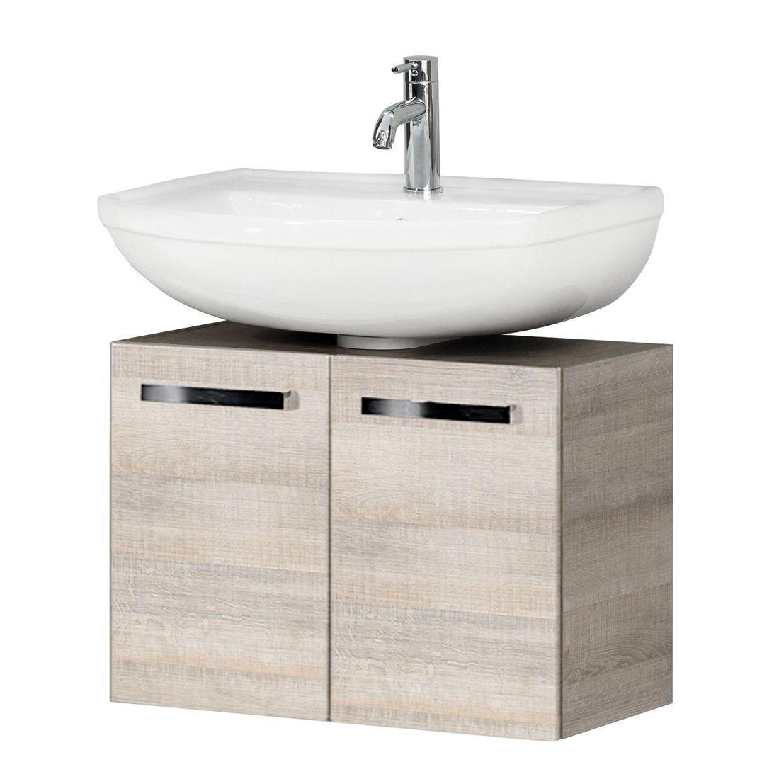 Waschbeckenunterschrank AVero Eiche Dekor Fackelmann Jetzt - Fackelmann badezimmer