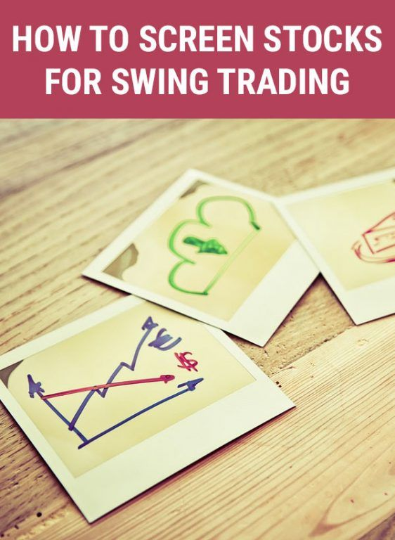 How to Screen Stocks for Swing Trade | Trading desk, Forex ...