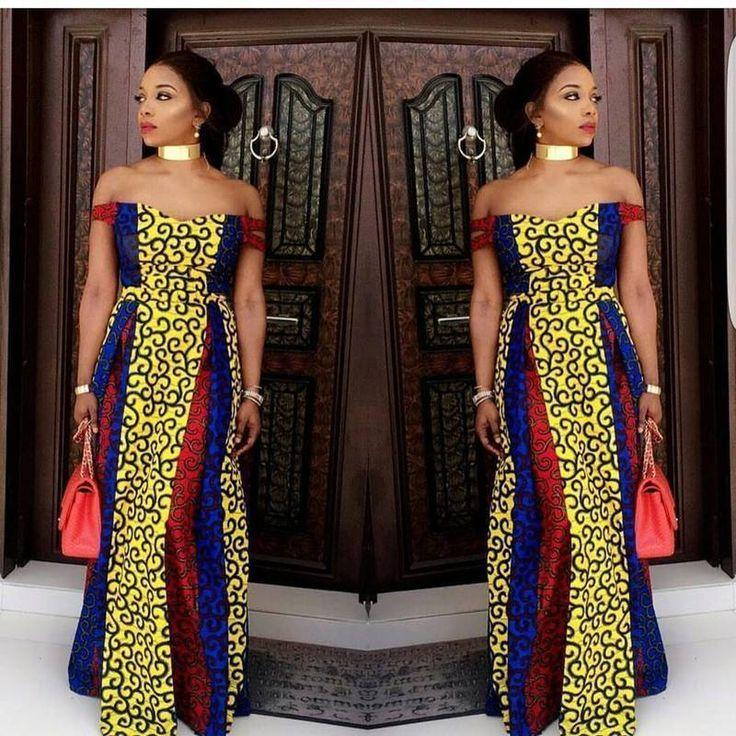 Tendance Robes De Soiree Modele Tenue Africaine Robe De Soiree Africaine Robe Africaine Mode Africaine Robe