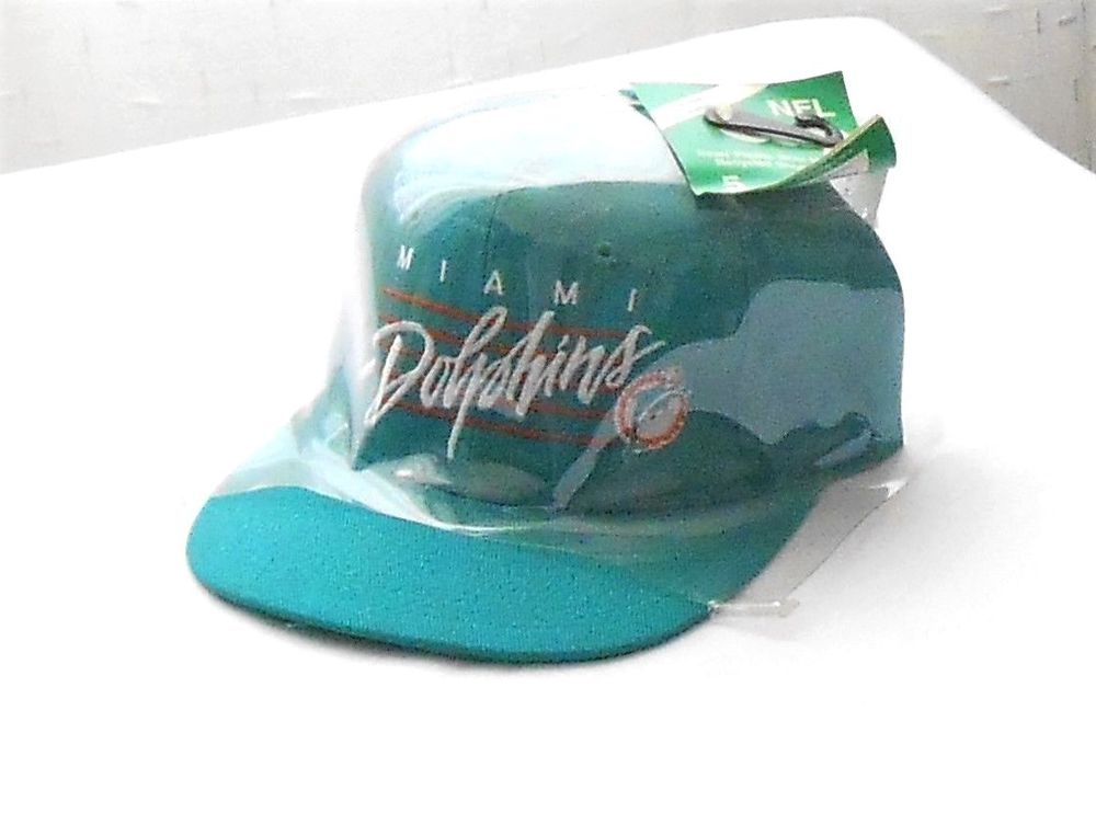 a7cbf716ebe New NFL Miami Dolphins Green Vented Snap Back Hat Cap  MiamiDolphins ...