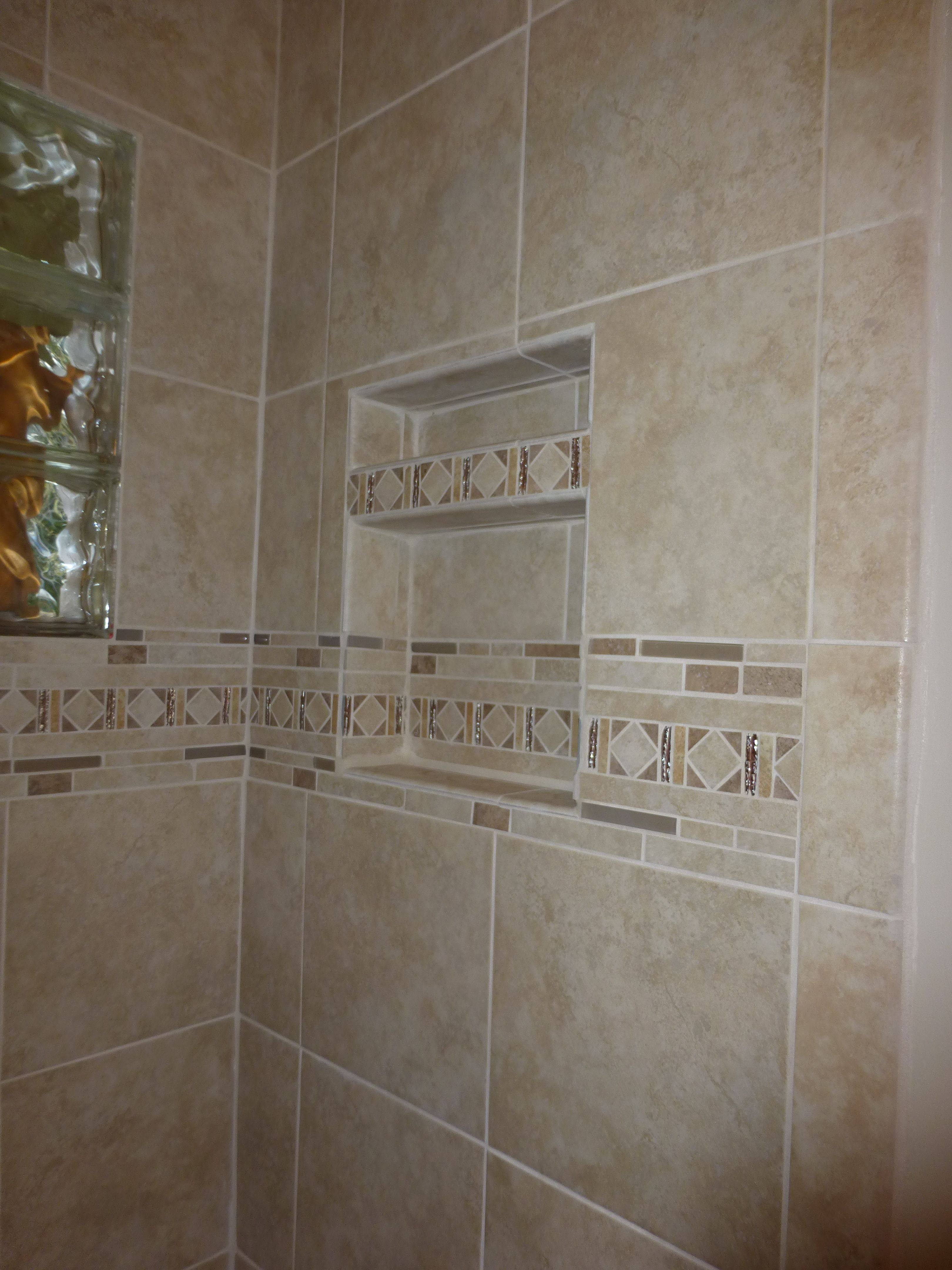 Capri Classic tile from Lowes Shower Surrounds Lowes