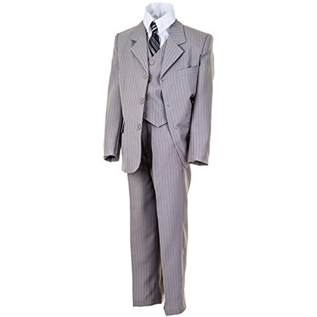 WEI KE XI Festlicher 5tlg. Jungen Anzug in Vielen Farben mit
