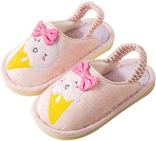 New Cattior Toddler Cotton Cute Kids Slippers House
