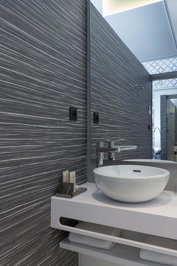 ⇢ #Baños de diseño en el Hotel Empreinte, #Orléans: lujo y relax a orillas del Loira