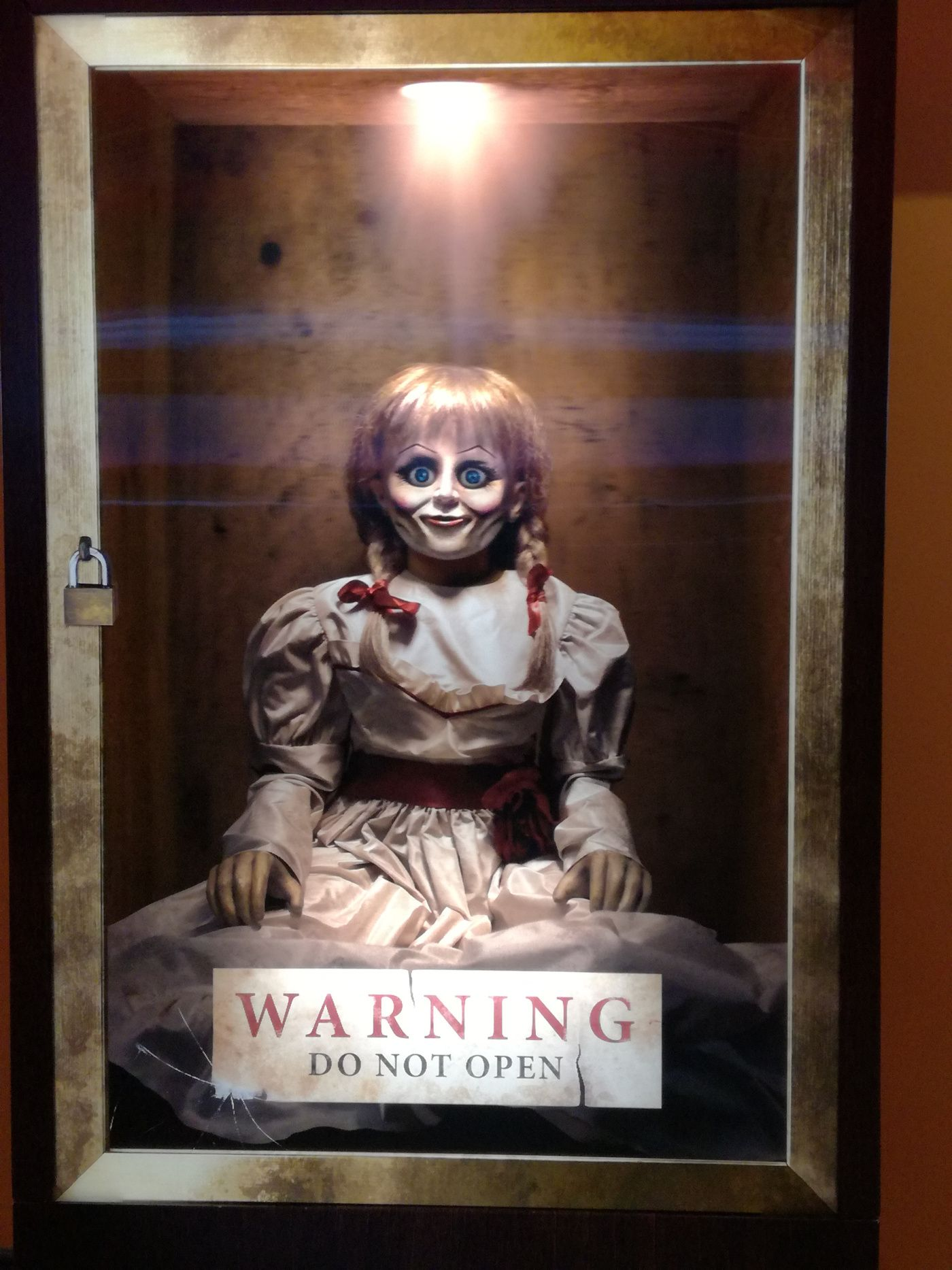 The Not So Scary Annabelle Movie Scary Wallpaper Horror Movies Funny Horror Movie Posters
