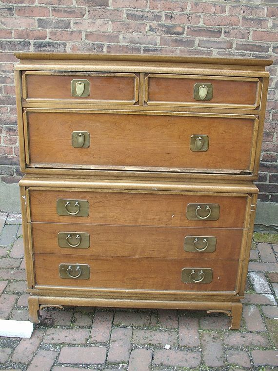 vintage mid century modern furniture 1950s kent coffey dresser drawers antique furniture pittsburgh - Mid Century Modern Furniture Of The 1950s