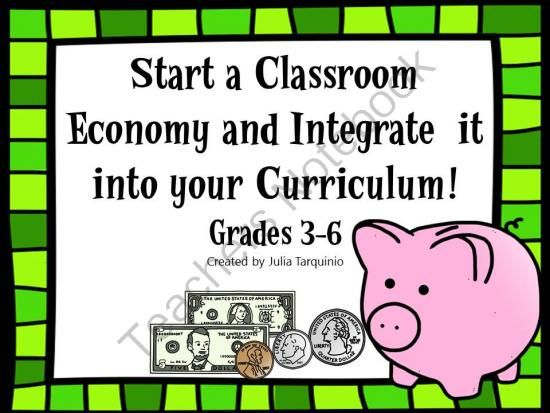 Classroom Economy Starter Kit with Teaching Objectives Included - objectives for jobs