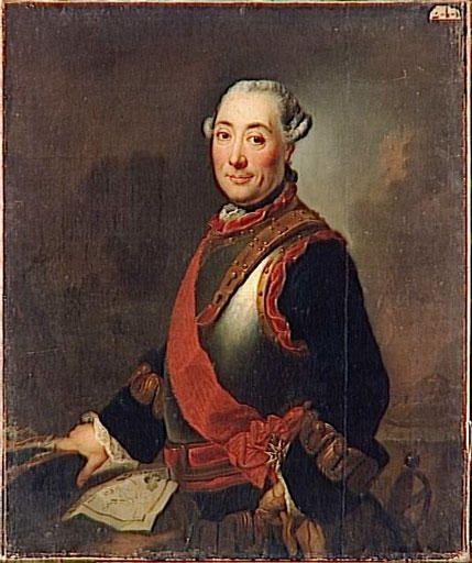 Marc Rene 2eme Marquis De Montalembert 1714 1800 Portrait Suppose