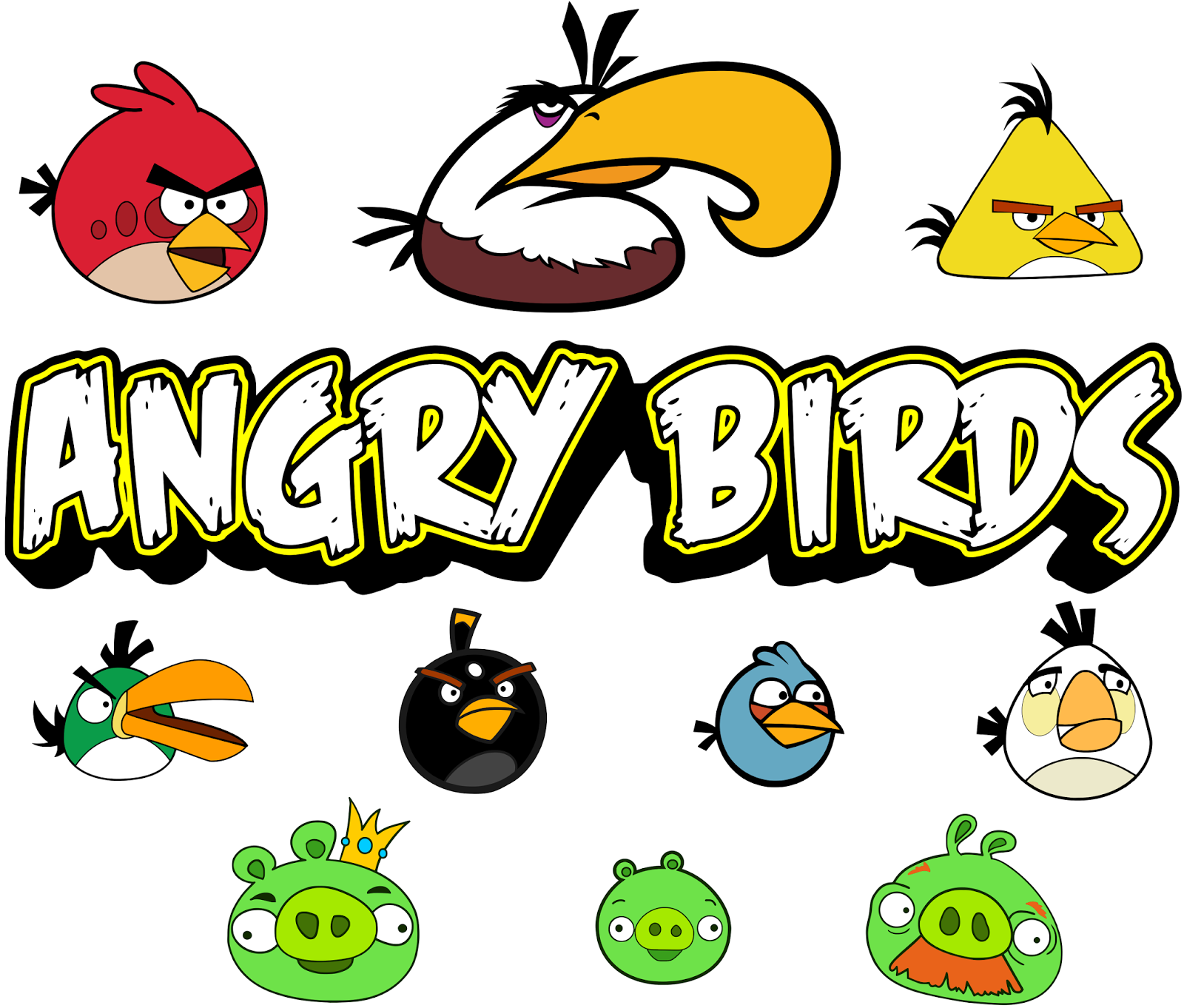 Krafty Nook Angry Birds SVG Files Scrapbook boys, Angry