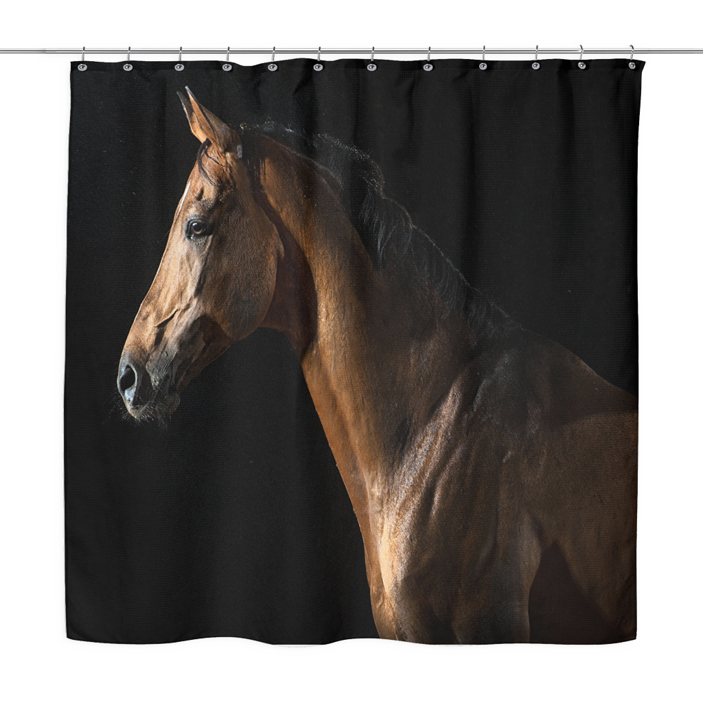 Horse Curtains For Bedroom.Horse Shower Curtain Hm1 Furniture Western Bedroom Decor