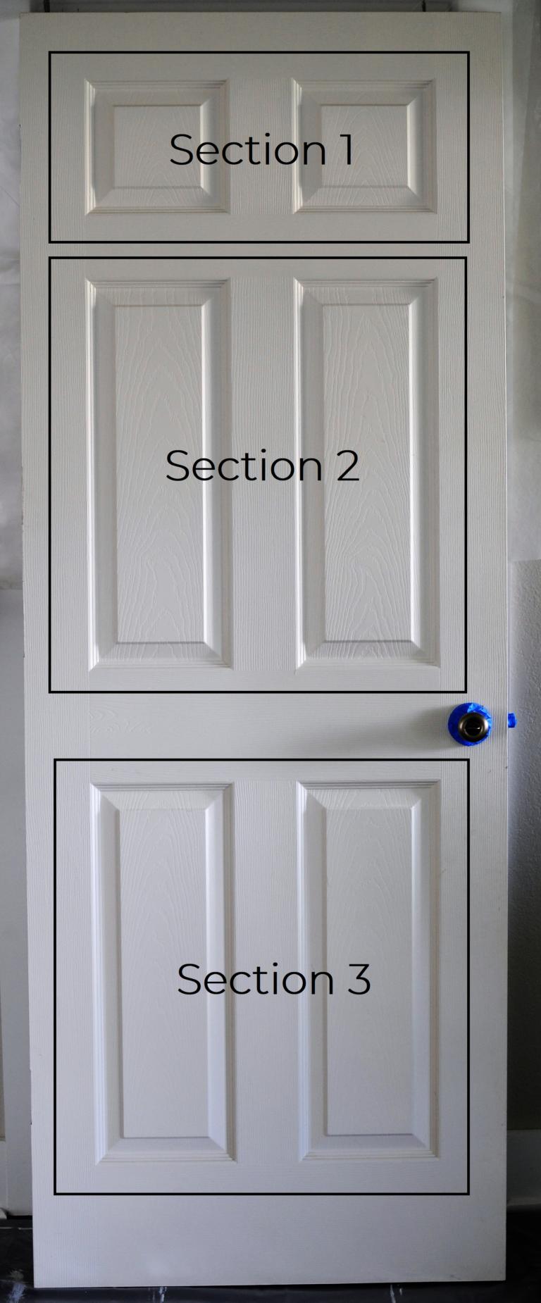 How To Paint A Panel Door Perfectly In Under An Hour Joyful Derivatives Paint Doors Black Doors Interior Painted Doors
