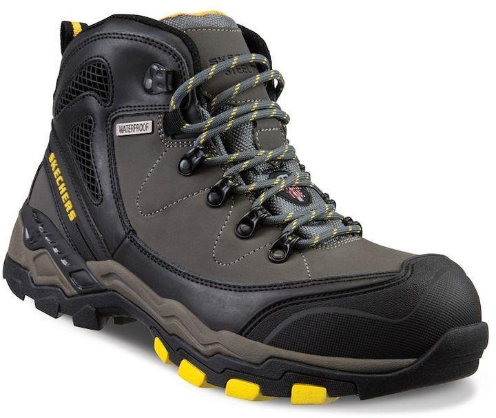 Waterproof Steel-Toe Boots