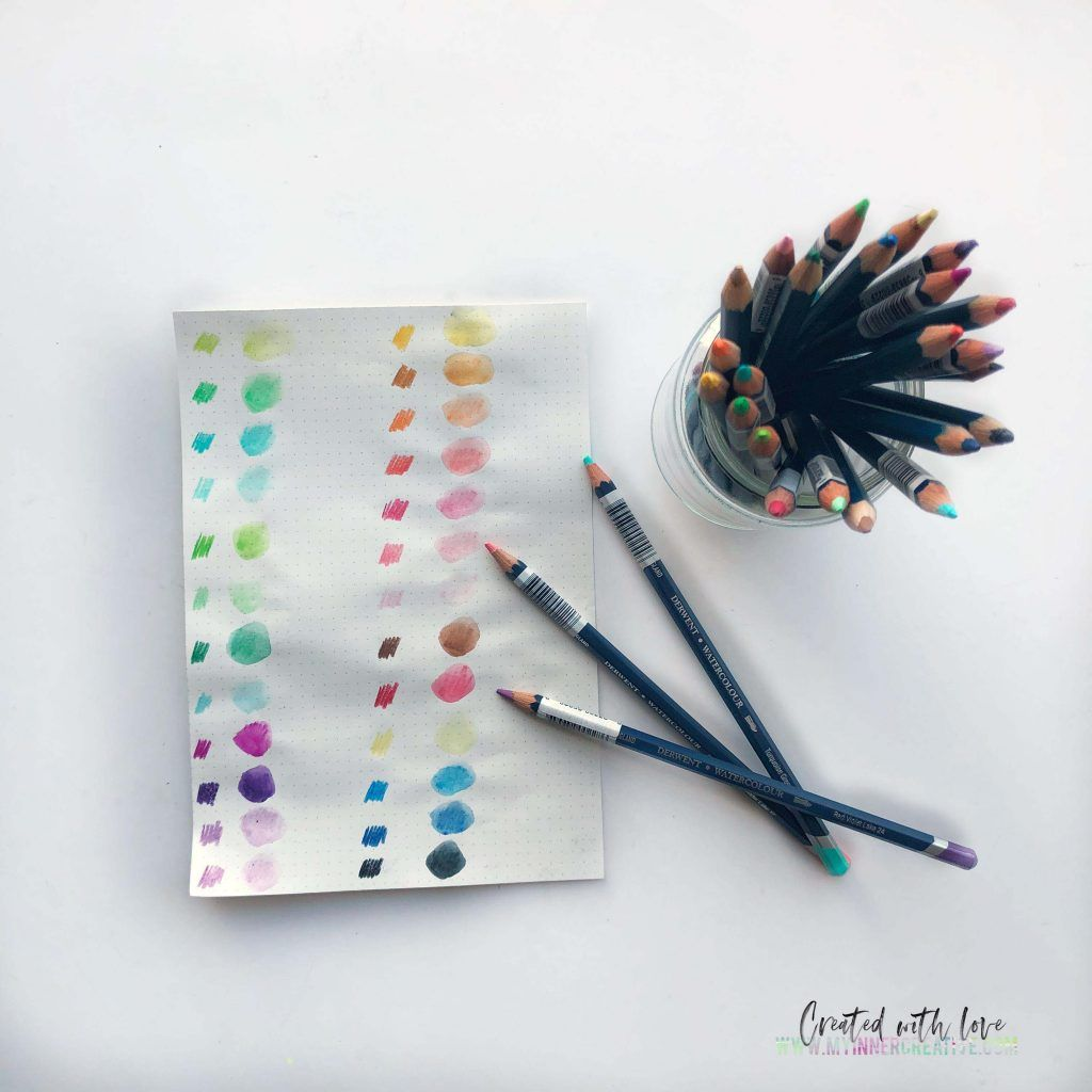 Best Watercolor Pencils To Use In Your Bullet Journal Best