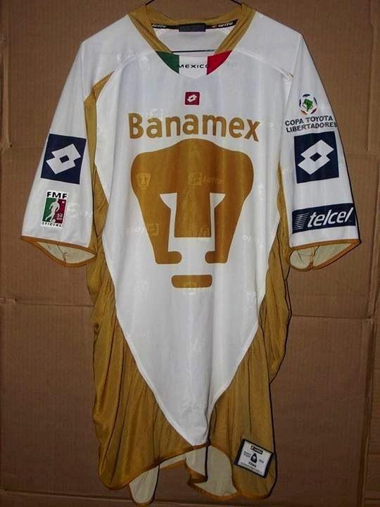 e1278fbb2 Pumas Unam libertadores 2004