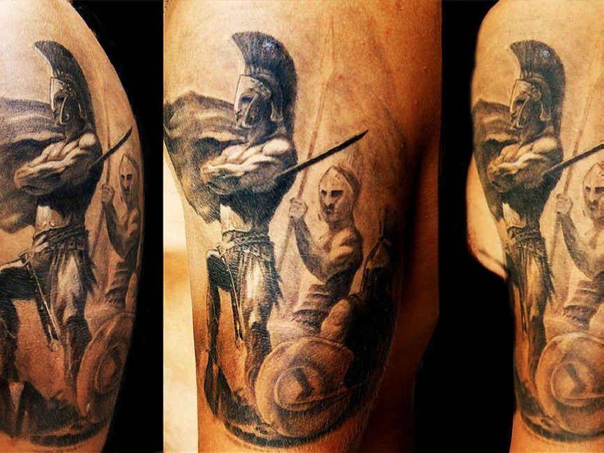 amazing spartan warrior tattoo photo 5 tatuagem pinterest spartan warrior warrior. Black Bedroom Furniture Sets. Home Design Ideas