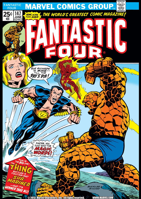 Fantastic Four 1961 Issue 147 Read Fantastic Four 1961 Issue 147 Comic Online In High Quality Couvertures Comic Bd Marvel Heros Marvel