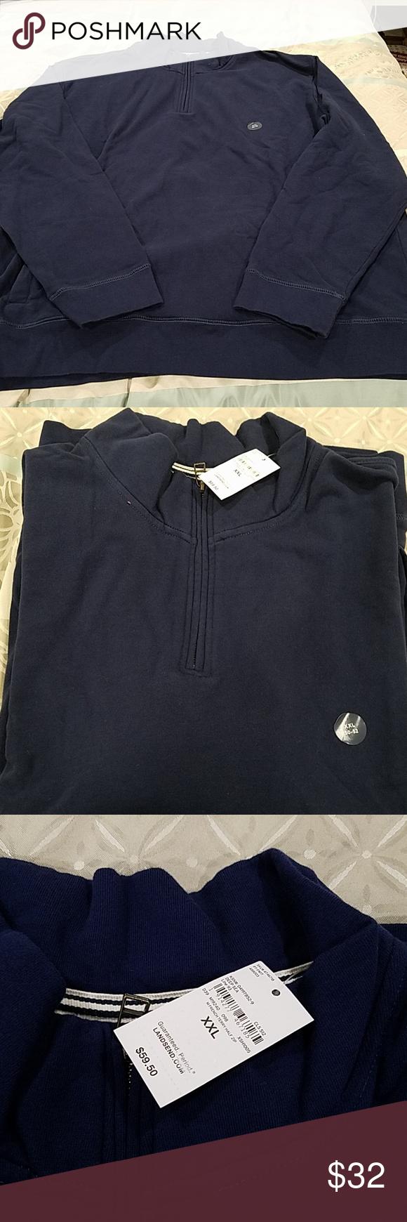 Lands End Men S Sweatshirt Mens Sweatshirts Long Sleeve Tshirt Men Sweatshirt Shirt [ 1740 x 580 Pixel ]