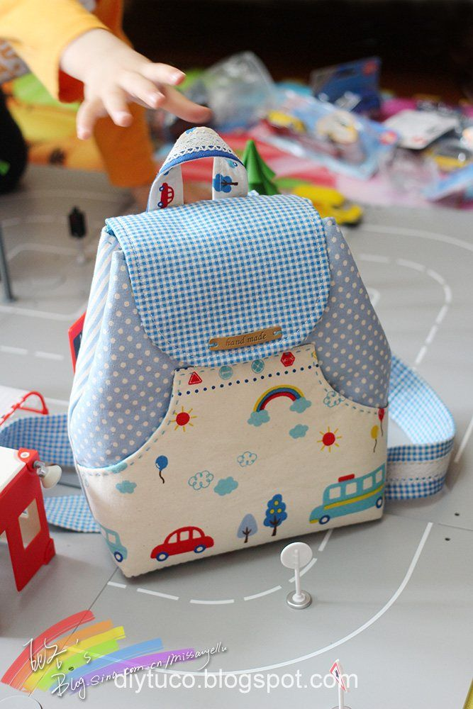 Tutorial  How to make a small children backpack  9f3e081aff031