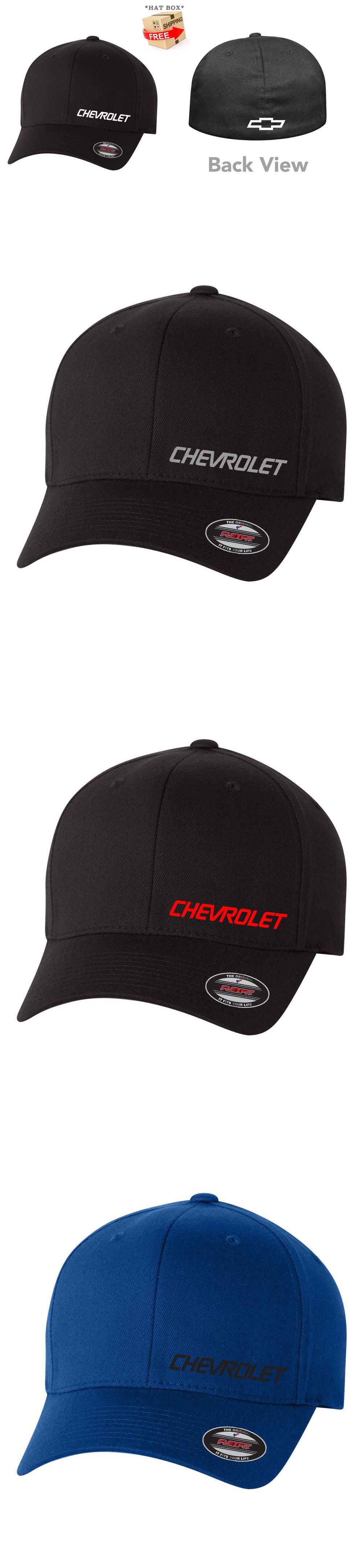 42bb08c77 Hats 52365: Chevrolet Chevy Motor Flex Fit Hat ---Free Shipping ...