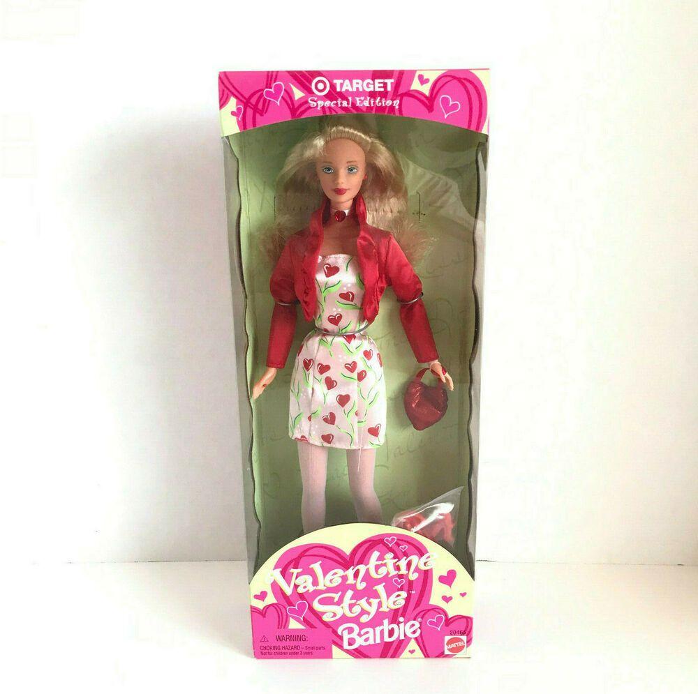 Barbie 1998 Target Valentine Style AA