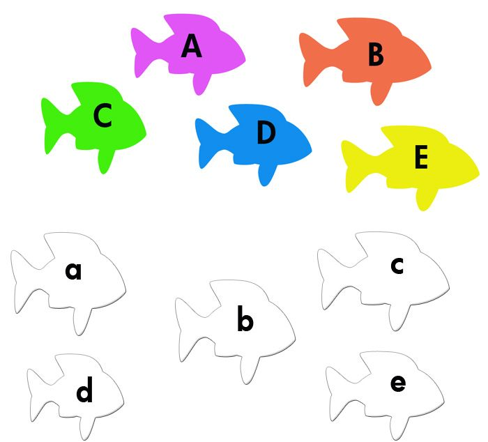 Letters matching games, coloring games, kindergarten games ...