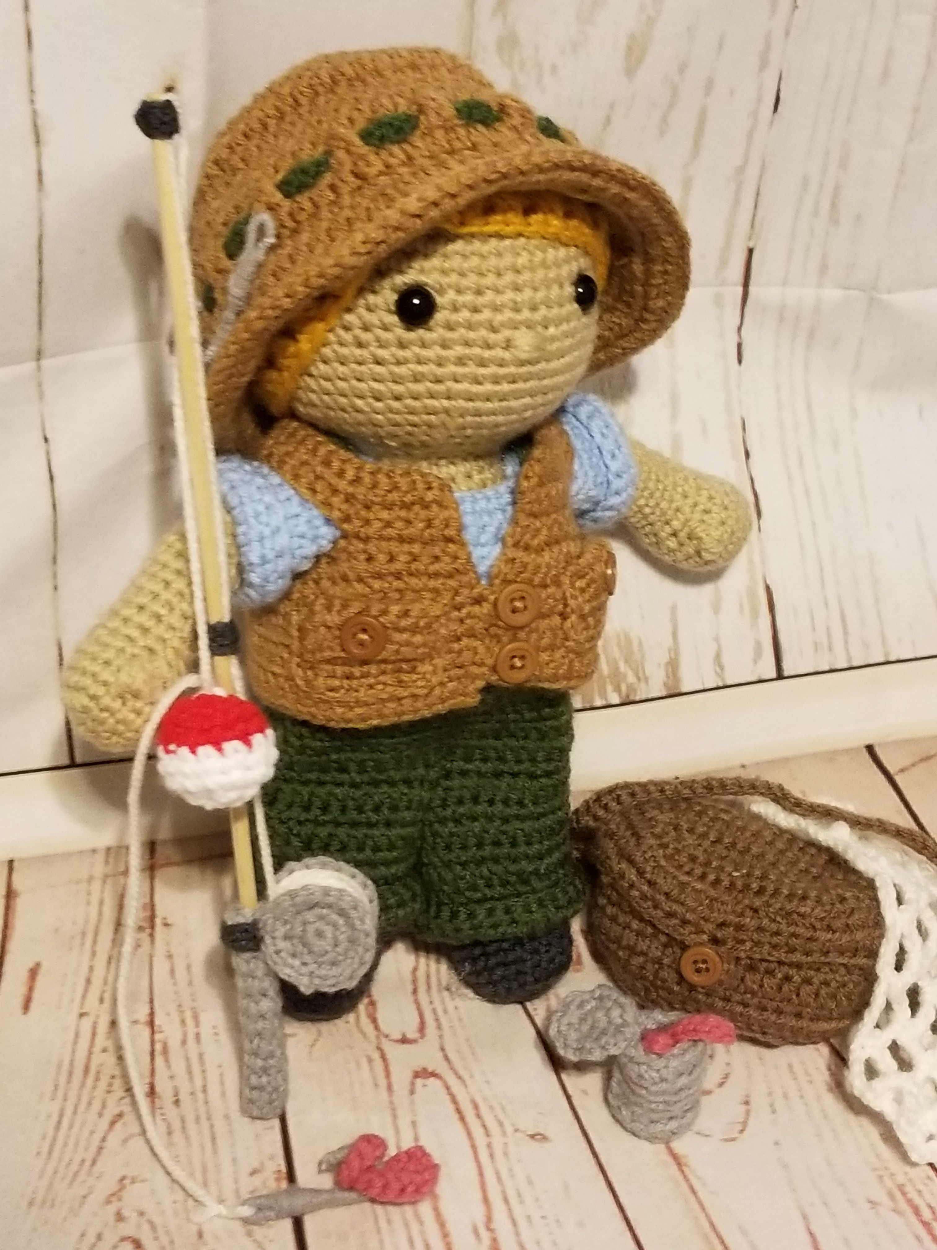 Fisherman Outfit & Accessories pattern by Kelli\'s Kreations ...