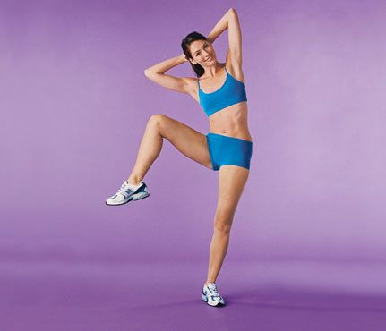 another guide to #abs without crunches: Stand Up to Belly Bulge: 7 On-Your-Feet Firmers via SELF