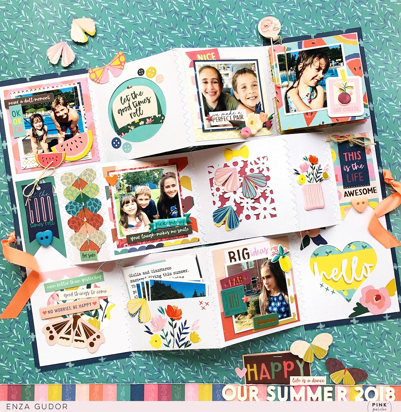 25 Creative Picture of Scrapbooking Layouts Multiple