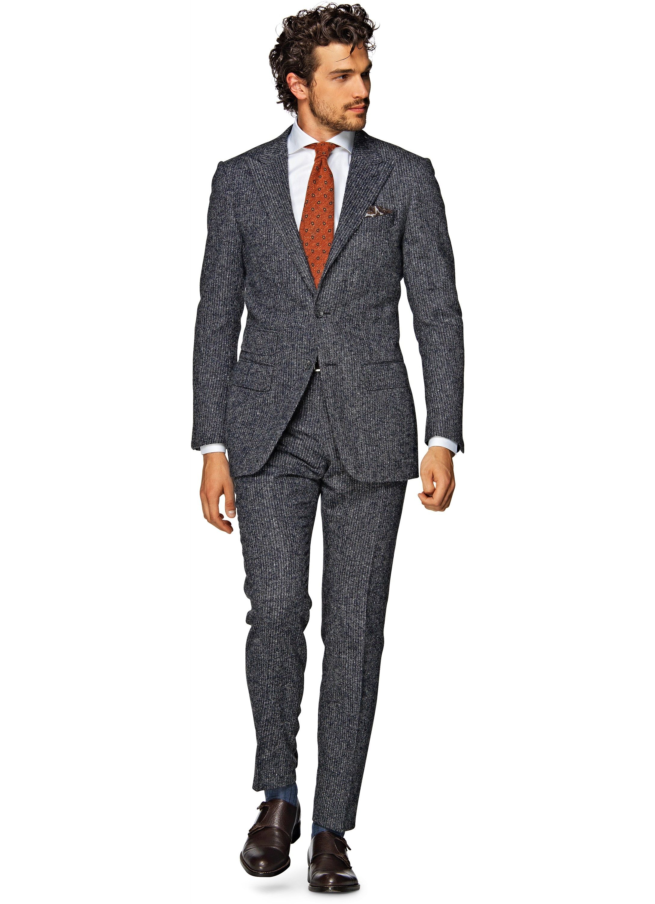 Nieuw Suit Grey Stripe Washington P3933i | Suitsupply Online Store | The OX-07