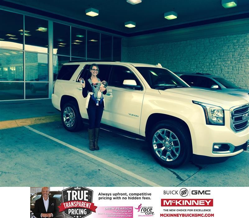 https://flic.kr/p/C6BVqf | Happy Anniversary to Beth on your #GMC #Yukon from Brett Stein at McKinney Buick GMC! | deliverymaxx.com/DealerReviews.aspx?DealerCode=ZAKC
