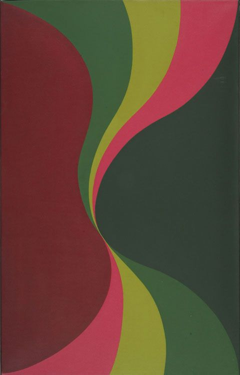 Ondulante (1968) Oleo sobre tela - María Martorell (Argentina, 1909) Museo Nacional de Bellas Artes de Buenos Aires
