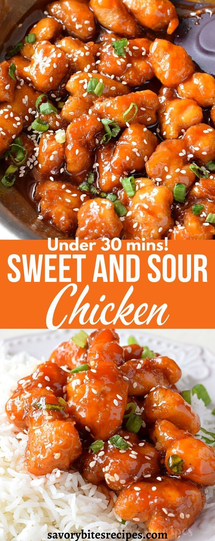 Try this ultimate easy sweet and sour chicken -   18 dinner recipes easy chicken ideas