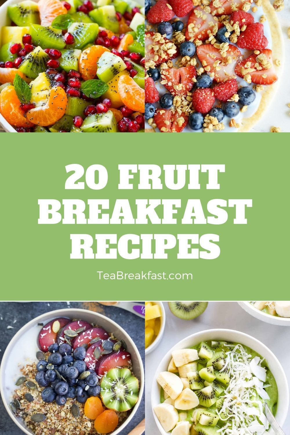 Fresh And Healthy Fruit Breakfast Recipes Healthy Breakfast Menu Breakfast Recipes Breakfast Recipes Easy