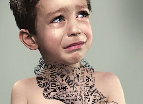 Words do hurt. Be careful what you say.